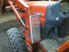 Rops Mounted Tool Box Tractor Stuff Kubota Tractors