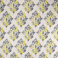 Warwick Fabrics : AKARI, Colour CHARTREUSE
