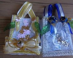 Mini-Sacola com Alça/Embalagem decorada