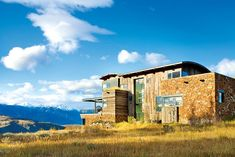 A Dream Home in the Tetons with Mod Style