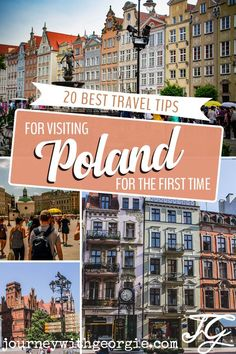 20 Poland Travel Tips You Need to Know! - Journey with Georgie - Stunning Poland is a delight for history lovers, outdoor adventurers and foodies. Here are 20 Polan - Travel Tips For Europe, Travelling Tips, Time Travel, Traveling, Austria, Visit Poland, Poland Travel, Journey, European Travel