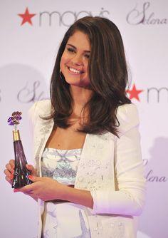 Selena Medium Length Haircut