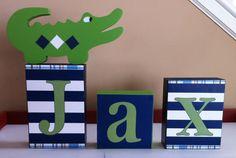 custom listing for Krissi Alligator madras name by ThePrintedOwl, $15.00