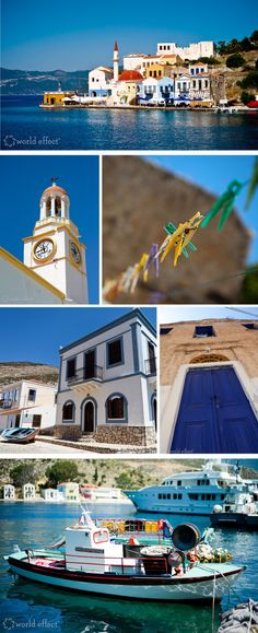 Greece. I have been to Greece but I want Pat to go someday!!! It is beautiful!