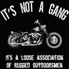 its not a gang