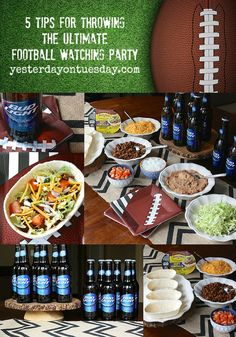 5 Tips for Throwing the Ultimate Football Watching Party | Yesterday On Tuesday