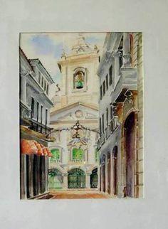 Igreja de Nossa Senhora da Lapa dos Mercadores-Pça XV-Rio de Janeiro