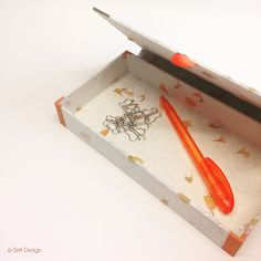 Für den Schreibtisch Book Binding, Planer, Stampin Up, Diys, Tray, Blog, Projects, Boxes, Home Decor