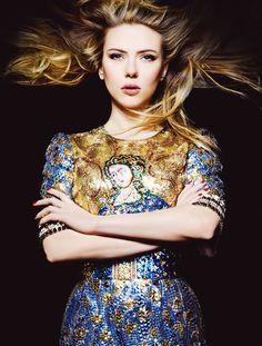 Scarlett Johansson for Harper's Bazaar Australia Sept 2013