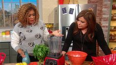 Sunny stopped by The Rachael Ray Show today to share a healthy take on chicken wings, featuring a yummy pesto that's easy to make at home. Typically, when Sunny visits The Rachael Ray Show, her segments are filled with fun, laughter and light-hearted goodness that have made her such a popular guest with our audience. […]