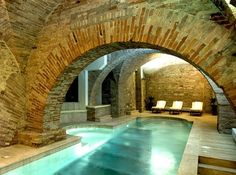 Basement conversion with a pool! What would you convert your basement to create? #basementconversion #pool