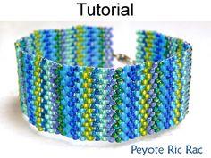 Beading Tutorial Jewelry Making Pattern by SimpleBeadPatterns