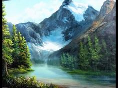 Paint with Kevin Hill - Canadian Glacier - YouTube