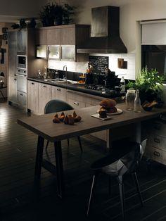 cucina per loft | Cucine indistrial | Pinterest | Industrial style ...