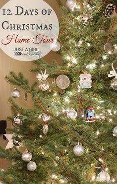 Beautiful and Creative Christmas Home Tour by Just a Girl and Her Blog-- Tons of inspiration!
