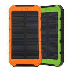 Solar Panel Battery Charger Power Bank 18000mAh USB