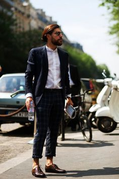 On the Street….Fabrizio Against the Heat, Paris « The Sartorialist