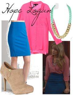 """""""Hope Logan - brighten up"""" by marijephotogirl ❤ liked on Polyvore"""