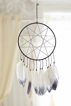 Shop Magical Thinking Double Star Dream Catcher at Urban Outfitters today. We carry all the latest styles, colors and brands for you to choose from right here. Dreams Catcher, Los Dreamcatchers, Dream Catcher Tutorial, Dream Catcher Craft, Homemade Dream Catchers, Diy And Crafts, Arts And Crafts, Magical Thinking, Easy Art Projects
