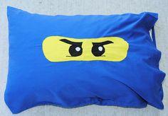 Ninjago Pillowcase - Crazy Little Projects