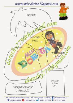 Miss Dorita molde niño-2