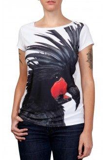 Comprar camiseta-desenho-passaro-negro-usenatureza