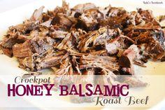 Honey Balsamic Roast Beef on MyRecipeMagic.com