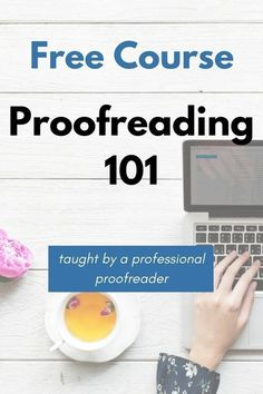 The free ecourse will teach you about proofreading, the industry, what clients expect, and how to fix some common editorial errors. If you've always wanted to start freelance proofreading or a side hustle, this course is for you! Work From Home Jobs, Make Money From Home, Way To Make Money, Make Money Blogging, Make Money Online, Managing Money, Motivation Business, Business Tips, Online Business