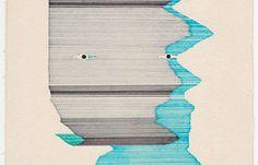 Mario Kolaric's Line Patterns. Great spot Juxtapoz.