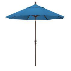 California Umbrella 9' Auto Tilt Market Umbrella-Pacifica, Choice of Color