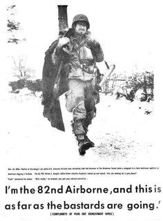 Classic 82nd Airborne poster