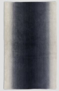 Fabien Baron Charcoal #1 rug by Cappellini.