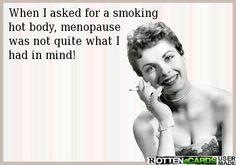 LOL #menopause