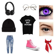 A fashion look from February 2018 featuring short sleeve tee, light wash ripped jeans and canvas high tops. Browse and shop related looks. Light Wash Ripped Jeans, Short Sleeve Tee, High Tops, December, Converse, Fashion Looks, Tees, Cute, Polyvore