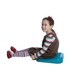 The Lean-N-Learn Wedge Cushion is designed to position the hips and pelvis into an active seated posture and allows for plenty of subtle movement. Why sit still when you can sit, move, and learn??