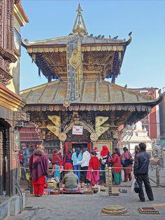 Le temple d'Hariti (Stupa de Swayambhunath) | Kathmandu nepal