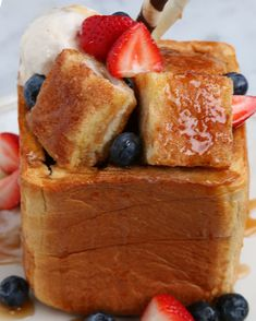 Brick French Toast | 7 Japanese Desserts from Tasty Japan