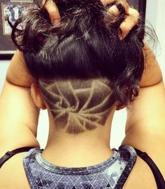 19 Shaved Hairstyles and Undercuts for Trendy Women - Hairstyle Monkey