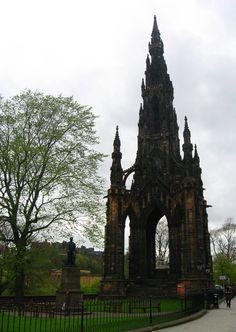 Sir Walter Scott Monument, Edinburgh, Scotland - Victorian Gothic architecture at its finest.