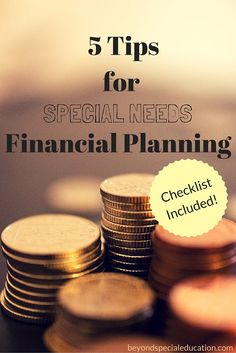 Have you thought about if your child is able to live on their own? If you have not, it is time to start thinking about special needs financial planning.