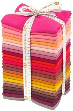 Kona® Cotton, Patchwork City Autumn Palette by Elizabeth Hartman