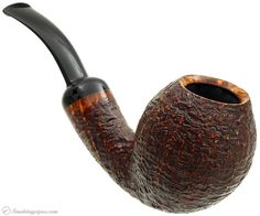 Former Sandblasted Bent Egg Pipes at Smoking Pipes .com
