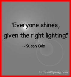 Everyone shines