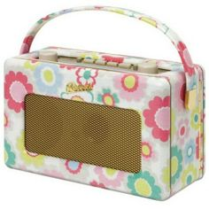 Roberts Radio with Cath Kidston flower print