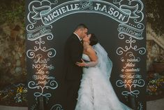Chalk Shop Events |Bella Collina Wedding | Chalkboard Back Drop | Photo Booth Backdrop Winter Park, Florida