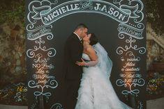 Chalk Shop Events |Bella Collina Wedding | Chalkboard Back Drop | Photo Booth Backdrop Winter Park, Florida