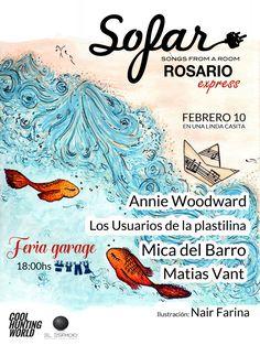Flyer Sofar Sounds Rosario 2017