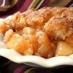 Ingredients: 1 cup brown sugar 1 cup rolled oats 1 cup all-purpose flour 1/2 cup butter, melted 3 cups apples – peeled, cored and chopped 1/2 cup white sugar 2 teaspoons ground cinnamon Directions: Preheat oven to 350 degrees F (175 degrees C). Lightly grease an 8-inch square pan. In a large bowl, combine brown sugar, oats, flour and butter. Mix until crumbly. Place half of crumb mixture in pan. Spread the apples evenly over crumb mixture. Sprinkle with sugar and cinnamon and top with…