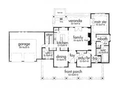 Awesome family room/kitchen layout. With powder room downstairs.