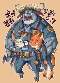 「ズートピア」/「BomBom」の漫画 [pixiv] #Judy #Nick #Bogo #Zootopia #Zootropolis